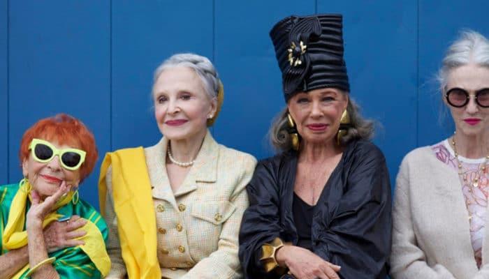 Как выглядеть модно после 60-ти лет (55 фото)