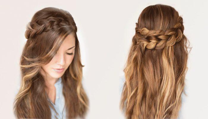 Легкие прически за 5 минут: на короткие, средние и длинные волосы