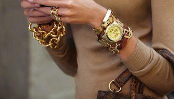 С чем сочетать женские часы (50 фото)