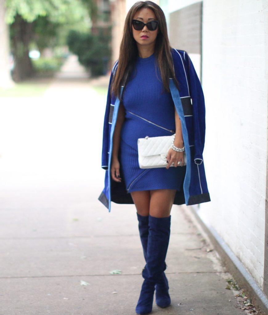 нас синее платье с серыми сапогами фото тех любимых друзей