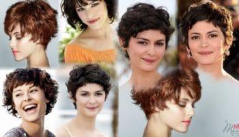 Короткие стрижки на кудрявые, вьющиеся и кучерявые волосы (50 фото)