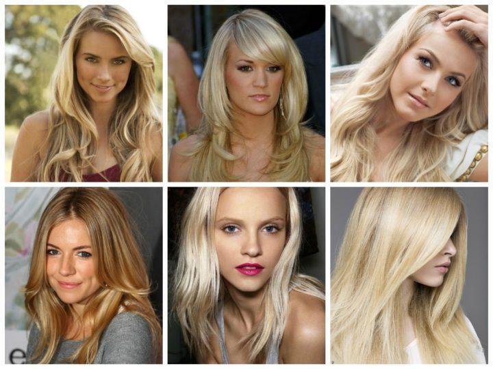Оттенок волос натуральный блонд