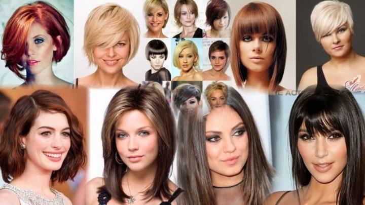 Стрижки для овального лица на средние, длинные и короткие волосы
