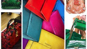 С чем носить сумки разной цветовой категории ( 100 фото)