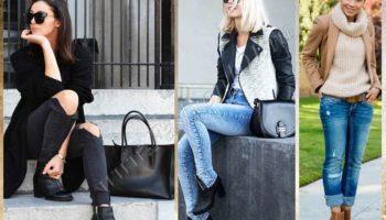 С чем носить полусапожки: гид по моделям ( 71 фото)