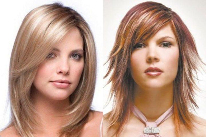 Стрижка Лесенка на длинные волосы | Стрижки и Прически | 682x1024