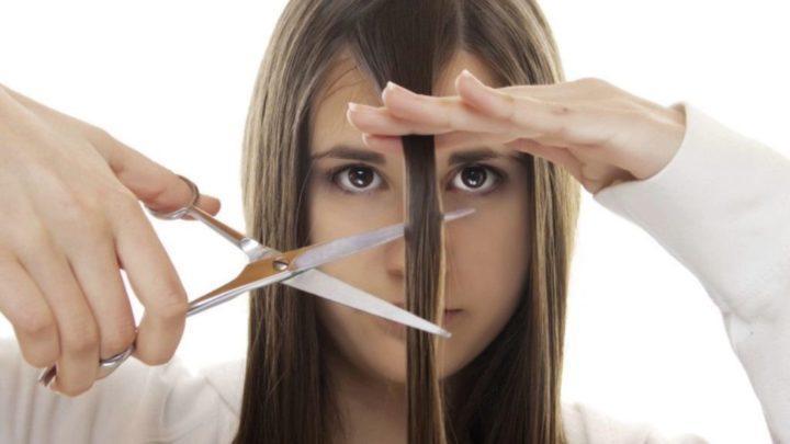 Обрезать волосы неровно сама себе сонник
