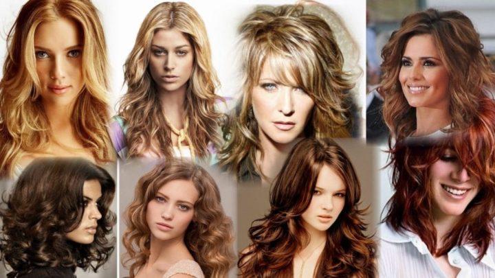 Стрижки на длинные кудрявые и вьющиеся волосы (50 фото)