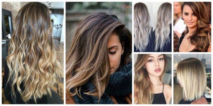 Окрашивание темных волос (69 фото): красивые модные варианты для брюнеток с волосами средней длины, покраска коротких и длинных локонов