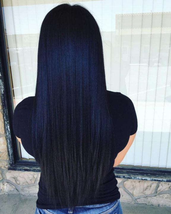 Каре черный цвет