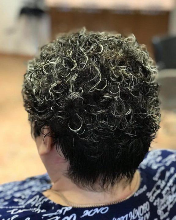 Химия на короткий волос картинки
