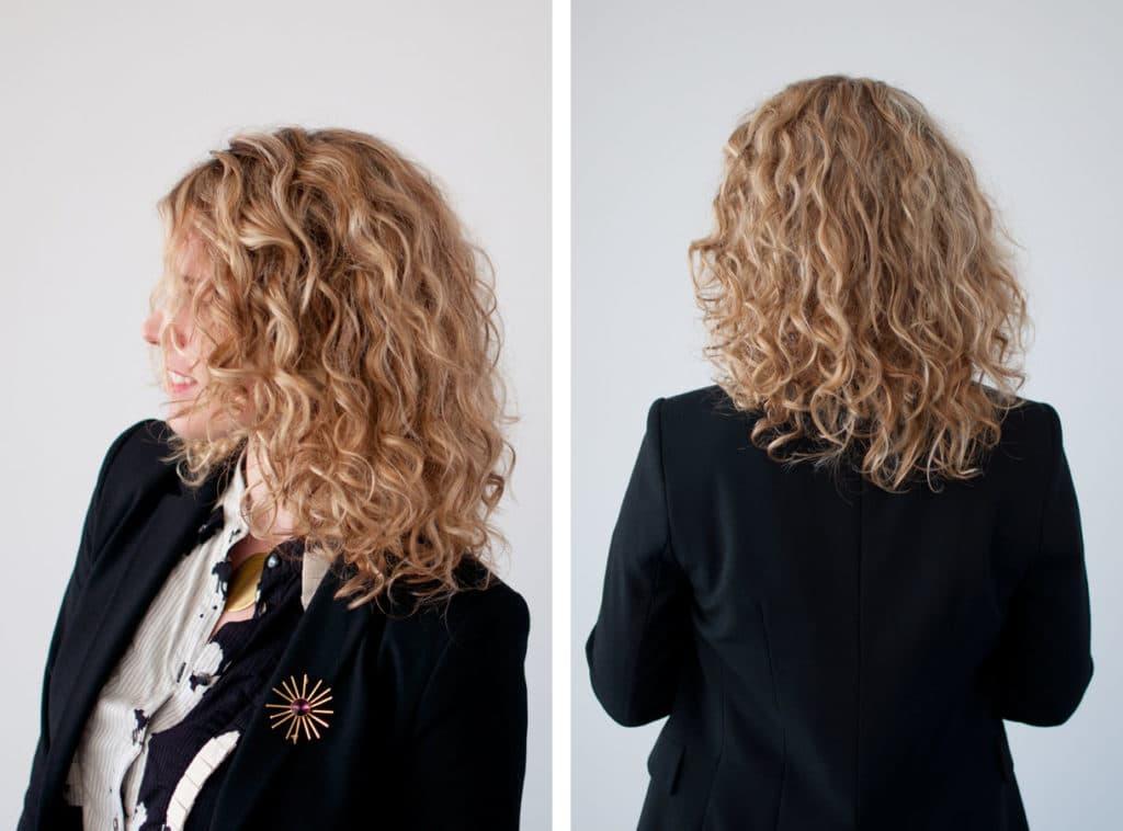 давних химия на волосы средней длины фото того
