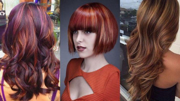 Виды окрашивания волос: 19 разновидностей с описанием (200+ фото)
