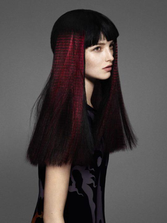что-то трафаретное окрашивание волос фото вдохновляющими работами области