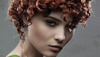 Химическая завивка на короткие волосы: легкий и крупный вариант (50 фото)