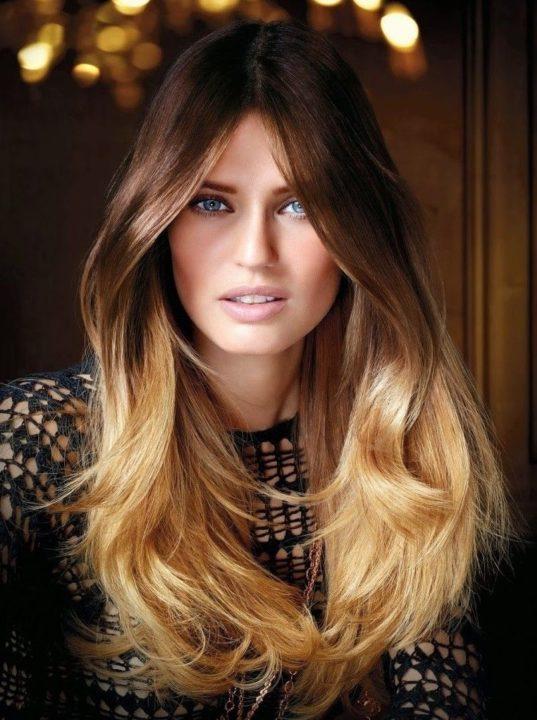 Техника окрашивания волос деграде (35 фото)