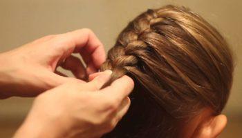 Как заплести французскую косу: техника плетения (40 фото)