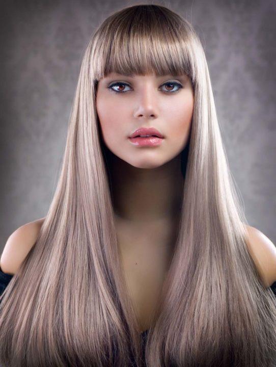Светлый русый пепельный цвет волос