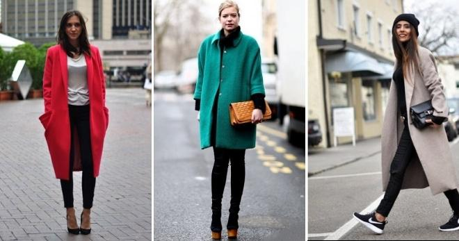 f8a76389e82 С чем носить пальто  выбор модели и цвета