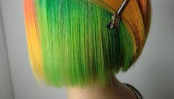 Скрытое окрашивание волос (50 фото)