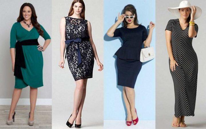 Женская одежда, которая стройнит и визуально уменьшает объем (66 фото)