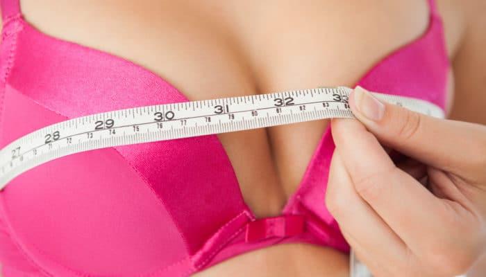 Как измерить размер груди и узнать свой объем?