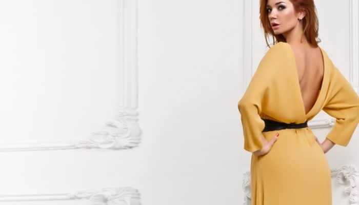 Как носить платья с открытой спиной (51 фото)