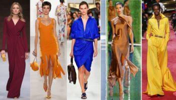 Модные цвета в одежде в 2019 году (53 фото)