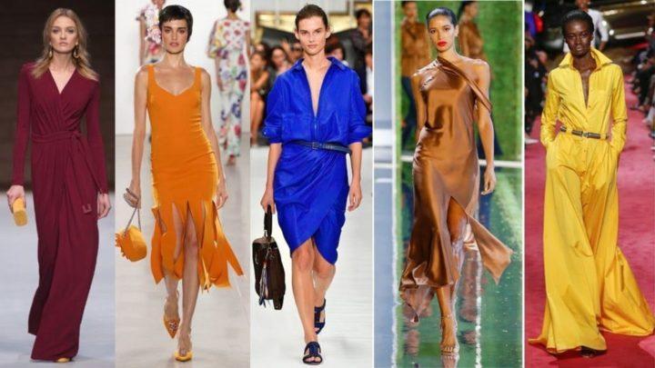 Модные цвета в одежде в 2020 году (53 фото)