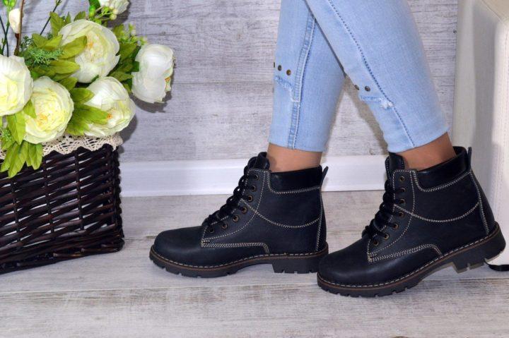Тепло и стильно: модная зимняя обувь 2020 (58 фото)