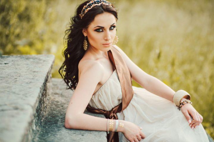 Платья в греческом стиле (55 фото)