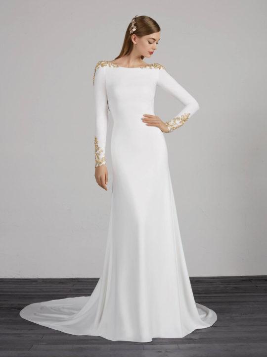 Свадебные платья в греческом стиле 2020