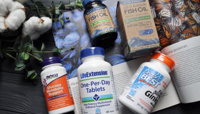 Топ 7 лучших витаминов для глаз с iHerb