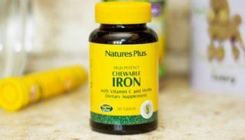 Топ 7 лучших добавок с железом с iHerb