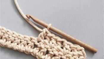 Как вязать столбик с накидом