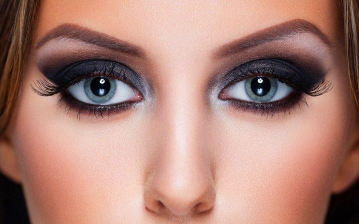 смоки айс для голубых глаз в картинках личности