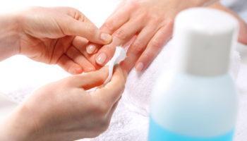 Как правильно очистить ногти от лака или гель-лака дома