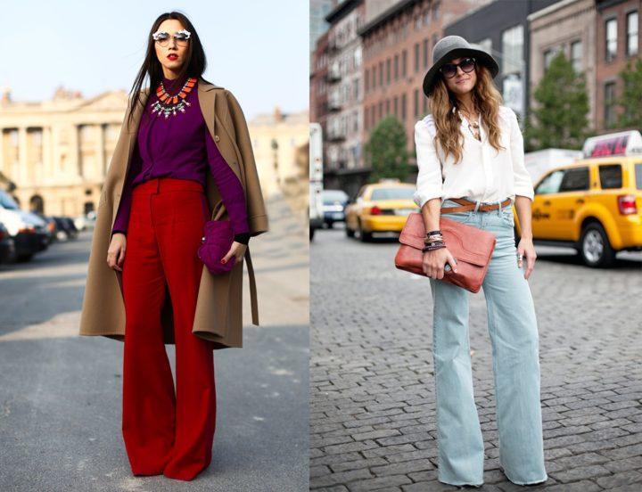 Разнообразные фасоны женских брюк. Идеи сочетания (55 фото)