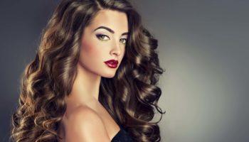 Крупные и красивые кудри на разную длину волос