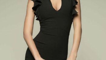 Маленькое черное платье. Разные модели платья. Духи «маленькое черное платье» (50 фото)