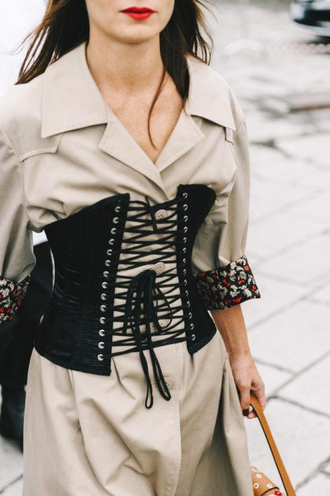 Как носить корсет? Модные образы (50 фото)