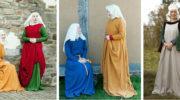 Все о женской моде 13 века (XIII ВЕКА) — интересные факты