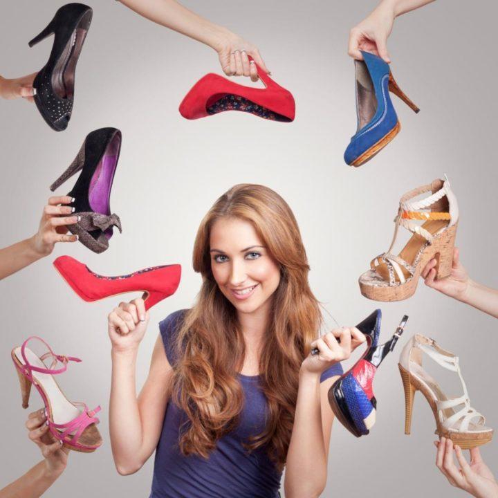 Подбираем туфли к платью правильно