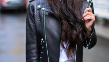 Женская косуха — стильный и актуальный образ