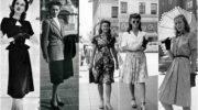 Все о женской моде 40-х годов — интересные факты