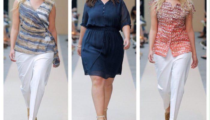 Мода для полных женщин на каждый день