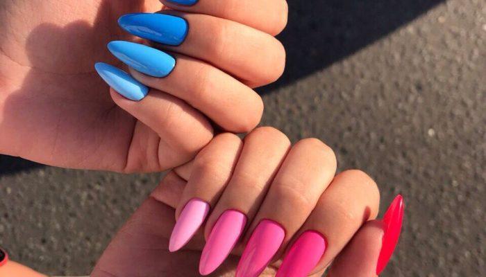 Разные цвета дизайна ногтей (151 фото)