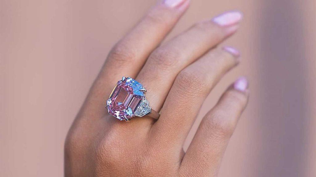 Кольцо «Розовое наследие»