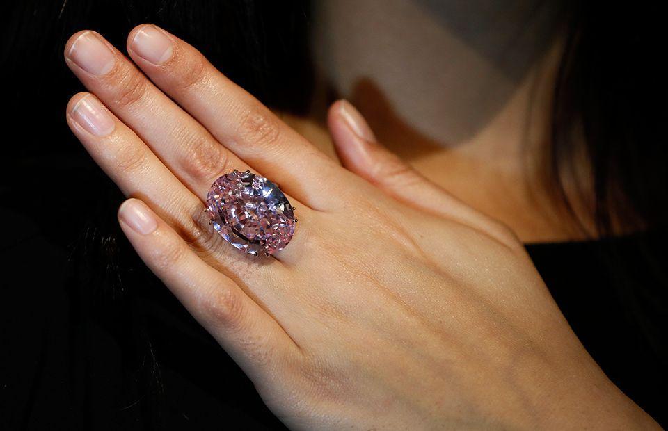 Кольцо «Розовая звезда»