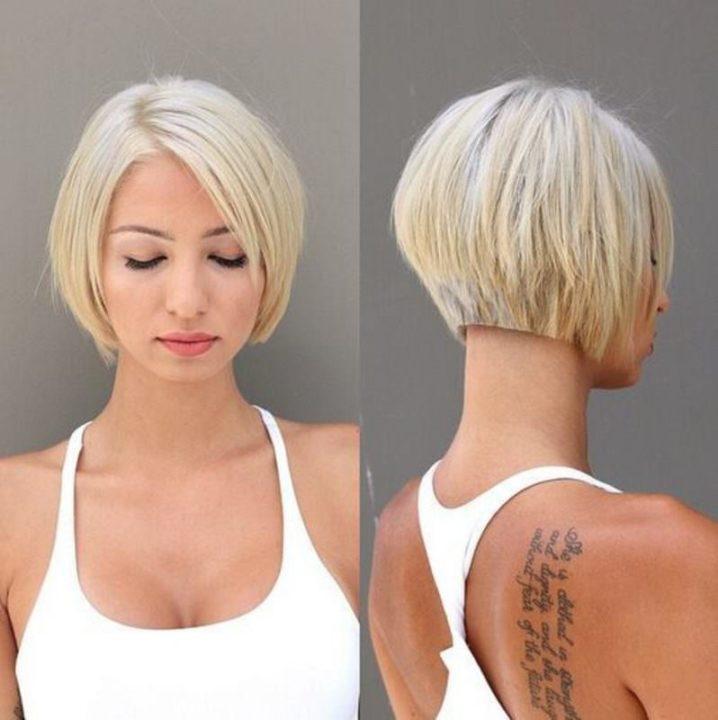 Красивые стрижки каре на короткие волосы